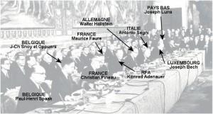 « Le Traité de Rome est passé inaperçu, c'est sans doute ce qui nous a permis d'aller aussi vite » – Maurice Faure, signataire pour la France dans Europe 140308_faure-300x161