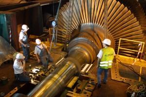 Alstom : mobiliser les salariés, le pays pour bloquer la vente, pour conquérir une nationalisation démocratique dans Luttes, grèves, manifs 140428_alstom_turbine-300x200