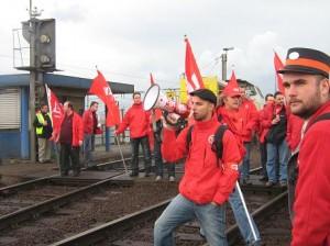 Grève dans le rail confirmée en Belgique ce 30 juin pour défendre les acquis sociaux des cheminots dans Europe 140626_greve_sncb-300x224