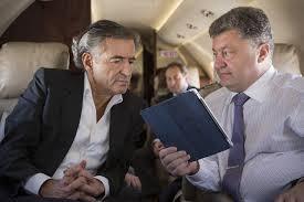 UE : l'incertain « Traité transatlantique » fait de plus en plus parler. Bien ! Mais le sordide et imminent accord EU-Ukraine va-t-il être signé sans contestation ? dans Europe 140626_porochenko_bhl