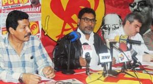 Venezuela : crise et/ou tournant dans la construction socialiste. Pour le PCV : la lettre ouverte de l'ex-ministre Jorge Giordani est l'occasion d'ouvrir le débat nécessaire devant le peuple. dans Solidarité internationale 140630_PCV_conf-300x166