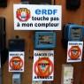 Linky Action Nationale : ERDF Touche pas à mon compteur