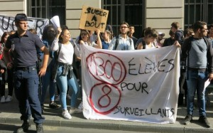 grève suger lycée