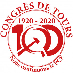 100 ans pcf logo